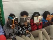 Image courtesy of Veronica Precious Bohanon- Students stage Read-In- Chicago