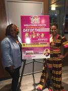 Venisha Johnson, |Midwest Events Corporate Sales and Special Events Manager Studio Movie Grill and La'Keisha Gray-Sewell, CEO GLMPI