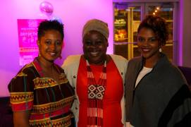 La'Keisha Gray-Sewell, CEO-Girls Like Me Project Inc, Consul General Vuyiswa Tulelo- South Africa; Appreccia Faulkner, CEO, Global Strategists Association