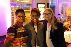 La'Keisha Gray-Sewell, CEO-Girls Like Me Project Inc, Appreccia Faulkner, CEO, Global Strategists Association, Jamelyn Lederhouse, Chicago Regional Manager, Global Glimpse